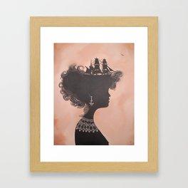 Big Girl Life Blog - Why not have a big life? Framed Art Print