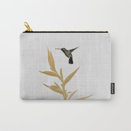 Hummingbird & Flower II Carry-All Pouch