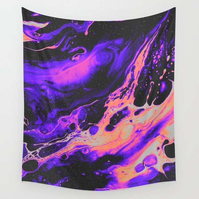 ABNORMAL BEHAVIOR & UNCONTROLLABLY VAPOR Wall Tapestry