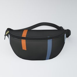Abstract Retro Stripes Vinyasa Fanny Pack