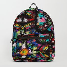 Ecuadorian Stained Glass 0760 Backpack