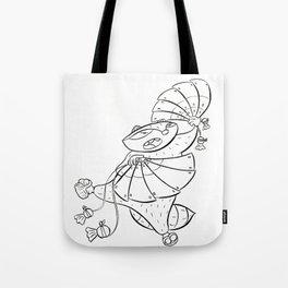 Ninja Fan Tote Bag