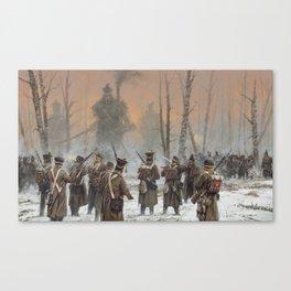25 February 1831 Canvas Print