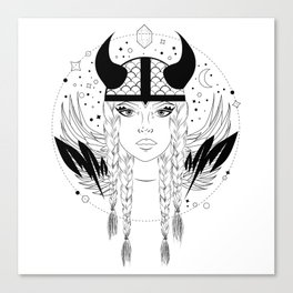 Viking Bitch Canvas Print
