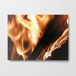 Filter Flames 2 Metal Print