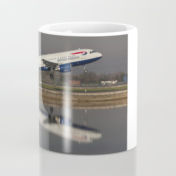 British Airways A318 Coffee Mug