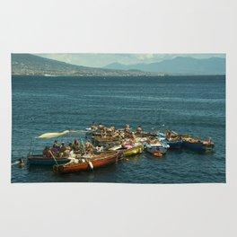 Neapolitan boat fest Rug