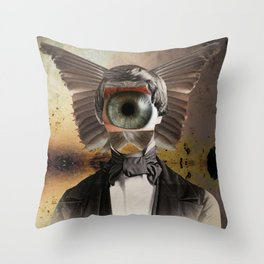 Mr. Insomnia Throw Pillow