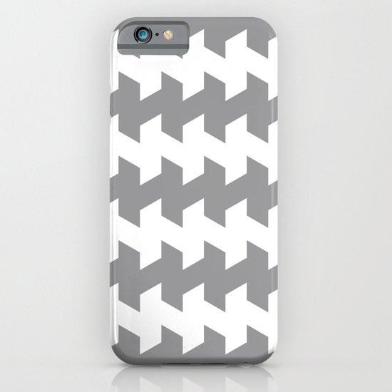 jaggered and staggered in alloy iPhone & iPod Case