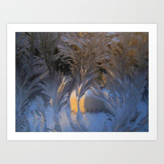 frost fans Art Print