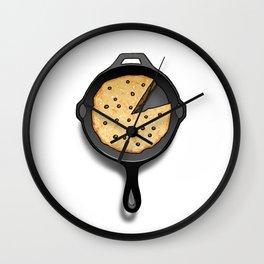 Skillet Cookie Wall Clock