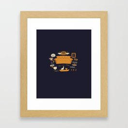 Friends - Central Perk Framed Art Print