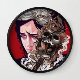 Vanessa's Nightmares Wall Clock
