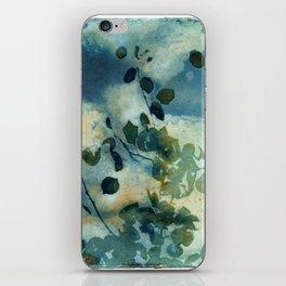 Abstract Shadows Cyanotype iPhone Skin