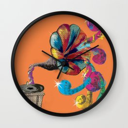 Music Box Wall Clock