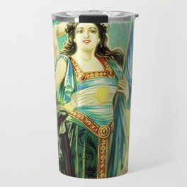 1910 Fernet Branca Liqueur Aperitif Advertisement Poster Print Travel Mug