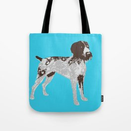 German Wire Hair Pointer Dog Tote Bag