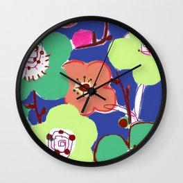 Plum Blossom Wall Clock