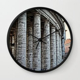 Vatican City Marble Wall Clock