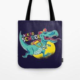 Back to school dinosaur Tote Bag