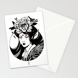 Ink Asian Beauty Stationery Cards