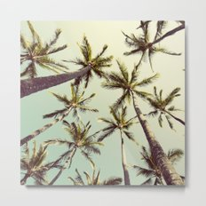 Palm Trees Sway  Metal Print