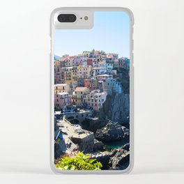 Where Sky Met Sea Clear iPhone Case