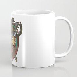Viking Nordic Norse Mythology Valhalla Gods Gift Coffee Mug