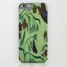 wildflowers and butterflies Slim Case iPhone 6s
