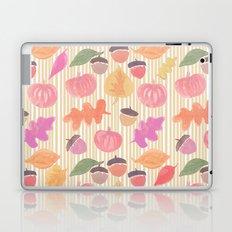 Fall Mix and Stripes Laptop & iPad Skin