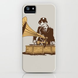 The Future In The Past iPhone Case