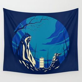 """""""The Jedi and The Child"""" by Matt Kehler Wall Tapestry"""