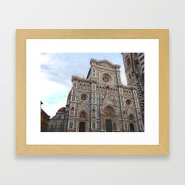 Duomo di Firenze - Front View Framed Art Print
