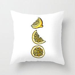 Trois Citrons 1 Throw Pillow