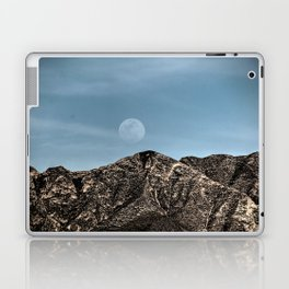 Moon over the Franklin Mountains Laptop & iPad Skin