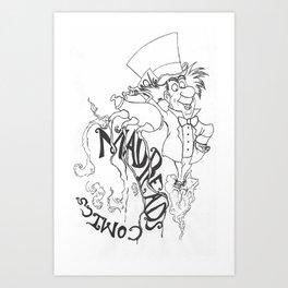 Nerd on Sermon Bandito Art Print