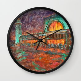 nighlights Wall Clock