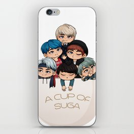 A Cup of Suga iPhone Skin