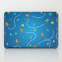 rocket iPad Cases featuring Rocket by MattRyan