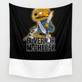 Governor McCheese Wall Tapestry