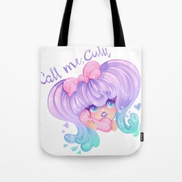 Call Me, Cutie Tote Bag