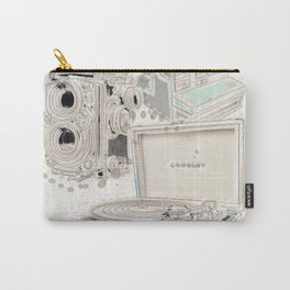 Hipster essentials Carry-All Pouch