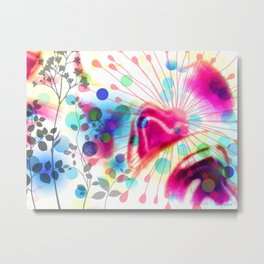 Efflorescence [4] Luminous way Metal Print