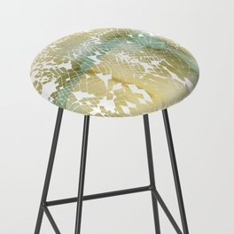 Fractured Gold Bar Stool
