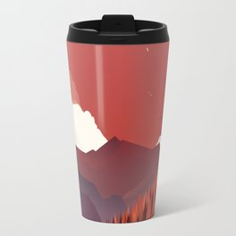 Alone In Nature - RedSky Travel Mug