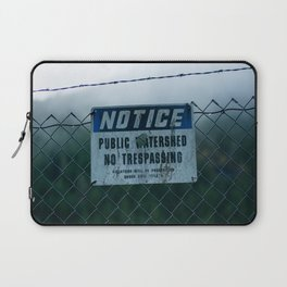 Some People Shoot Signs Sometimes Laptop Sleeve