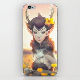 Deer Princess iPhone Skin