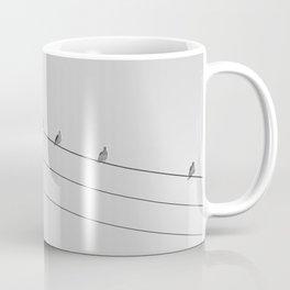 Birds on a Line Coffee Mug