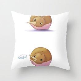 Dorb Meep Throw Pillow