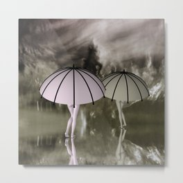 when the weather is bad Metal Print